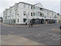 D1241 : The Marine Hotel, Ballycastle viewed from Marine Corner by Eric Jones