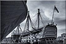 SU6200 : HMS Victory by Chris N Illingworth