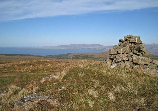 North east from Beinn Chreagach