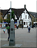 NS5574 : West Highland Way obelisk by Thomas Nugent