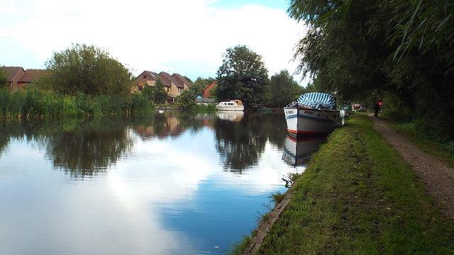 Grand Union Canal near Harefield