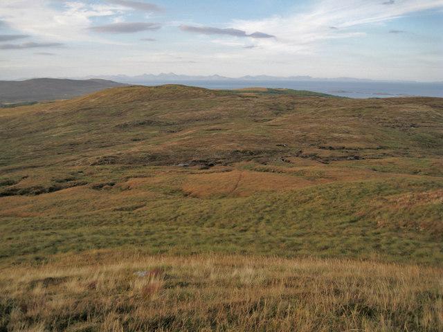 North from Beinn a' Sgùmain