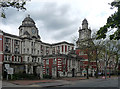 SJ8496 : Royal Infirmary, Oxford Road, Manchester by Stephen Richards