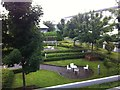 R5855 : Courtyard at Maldron Hotel, Limerick by Darrin Antrobus