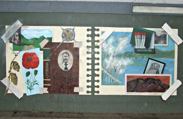 Milngavie underpass murals