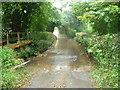 SO3630 : Ford near Cwm Dulas Mill by Jeremy Bolwell