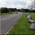 SS5999 : Boulder-lined Heol y Mynydd, Gorseinon by Jaggery