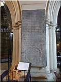 NS4863 : Paisley Abbey: the Hamilton Memorial Tablet by Lairich Rig