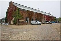 TF3243 : Former Railway Goods Warehouse, Boston by Dave Hitchborne