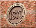 J3979 : Church datestone, Holywood by Albert Bridge