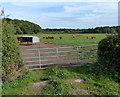 SK4824 : Gate leading onto farmland by Mat Fascione
