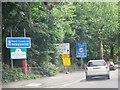 SU7682 : Entering Berkshire, A4130 by N Chadwick