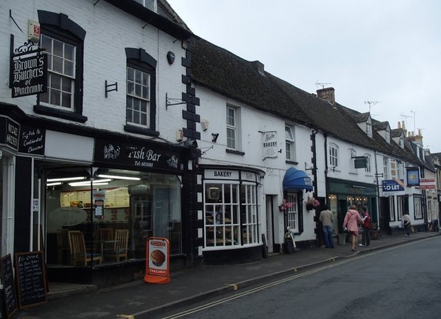 Shops on North Street, Winchcombe