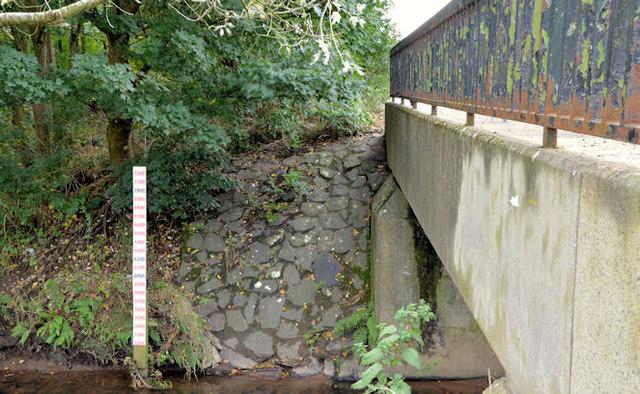 Depth marker, Knock River, Belfast