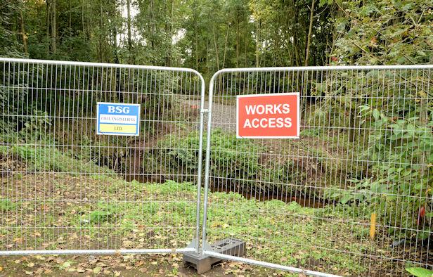 New bridge site, Orangefield Park, Belfast (1)