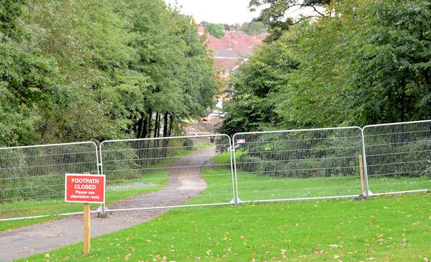New bridge site, Orangefield Park, Belfast (2)