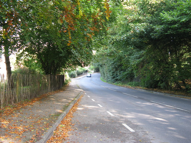 B2131 Linchmere Road passing through Hammer