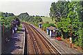 TQ1743 : Holmwood station, 1994 by Ben Brooksbank