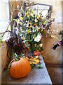 TQ8438 : Flower festival at All Saints Church, Biddenden by Marathon