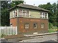 SO6907 : Disused signal box at Awre Crossing by M J Richardson