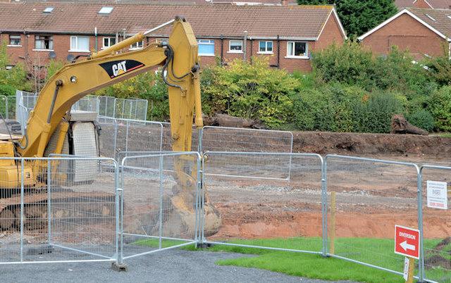 Flood alleviation works, Orangefield Park, Belfast (2)