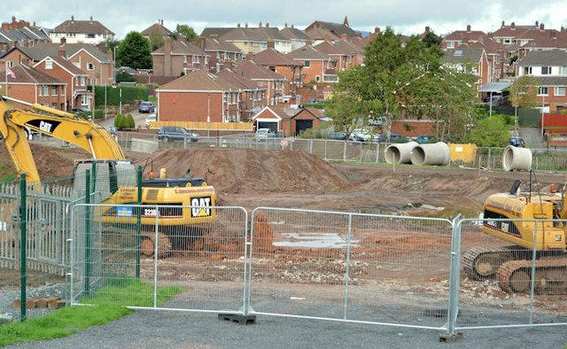 Flood alleviation works, Orangefield Park, Belfast (3)