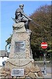NX6851 : Kirkcudbright War Memorial by Leslie Barrie