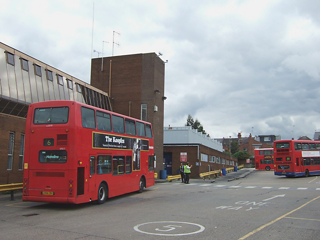 Willesden bus garage