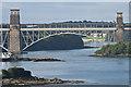 SH5471 : Pont Britannia by Ian Capper
