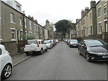 SE0824 : Warley Street - looking towards Parkinson Lane by Betty Longbottom