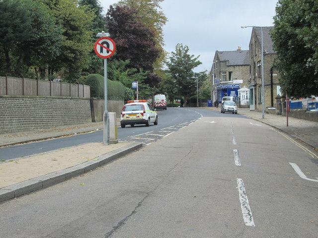 Savile Park Road - viewed from Free School Lane