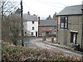 SO3289 : Two views of Castle Street, Bishops Castle 2-Shropshire by Martin Richard Phelan