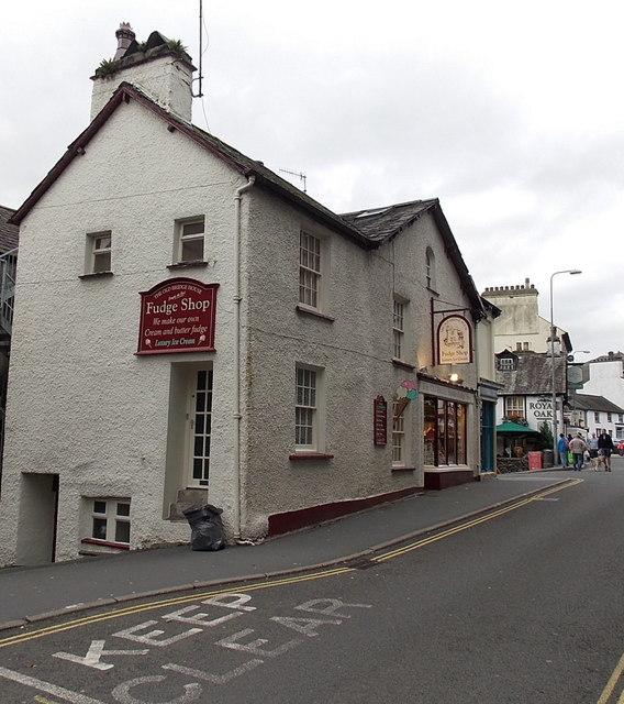 The Old Bridge House Fudge Shop, Ambleside