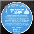 SD3036 : Grand Theatre Blue Plaque by Gerald England