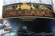 ST5772 : The stern of the SS Great Britain by Philip Halling