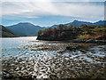 NG8706 : Tidal Island on Loch Hourn by Tom Richardson