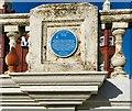 SD3036 : Blue plaque:Princess Parade by Gerald England
