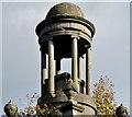J4173 : The Cleland Mausoleum, Dundonald (detail) (2) by Albert Bridge