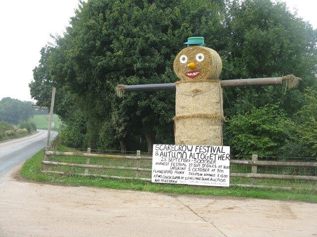 Scarecrow at Flanesford