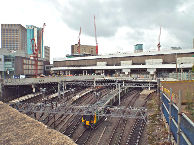 New Street station from Worcester Street