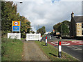 NZ1749 : A6076 entering Maiden Law by Trevor Littlewood