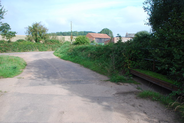 Back Lane Ford, Lower Stowford