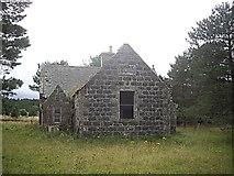 NJ3826 : The Cabrach old school by Stanley Howe