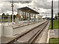 SJ9298 : Metrolink East Manchester Extension, The Ashton Moss  Tram Stop by David Dixon