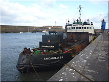 NT6779 : Coastal East Lothian : MV Shearwater At Victoria Harbour, Dunbar by Richard West