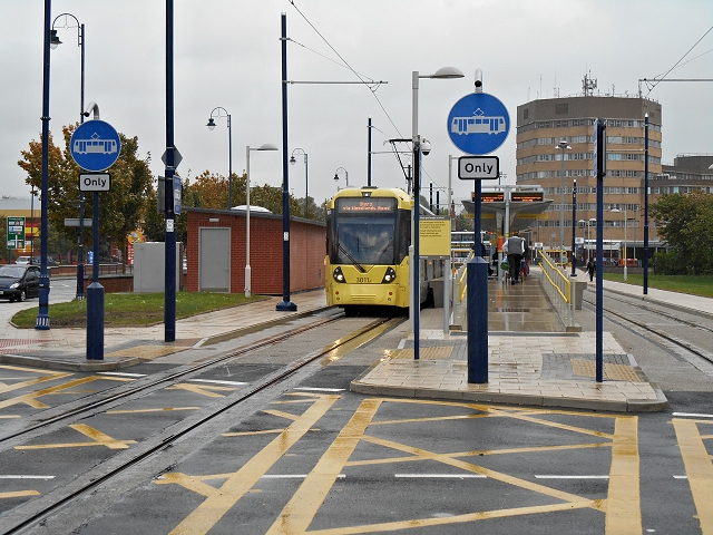 Metrolink Terminus, Ashton-Under-Lyne