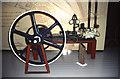 NT4466 : Glenkinchie Distillery - steam engine by Chris Allen