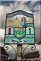 TM2863 : Framlingham Town sign by Richard Croft