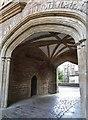 ST5545 : Gateway of Vicars Close, Wells by Derek Voller