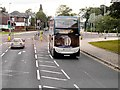 SD8203 : Metrolink Replacement Service, Sheepfoot Lane by David Dixon